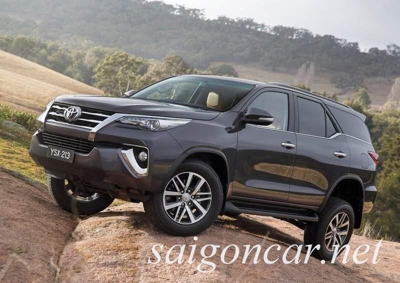 Toyota Fortuner 2017 Den Xe