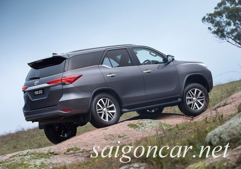 Toyota Fortuner 2017 Duoi Xe