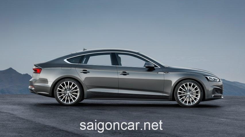 Audi A5 Hong Xam
