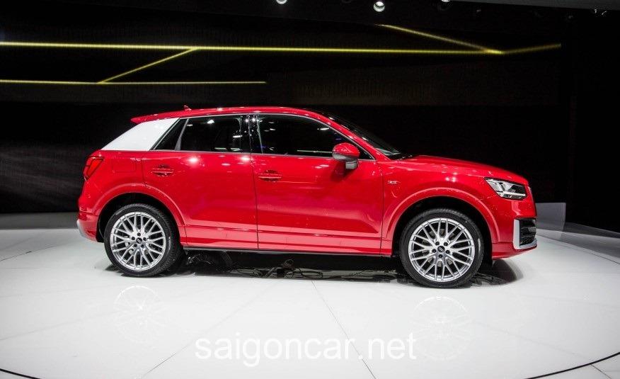 Audi Q2 Ben Hong Xe