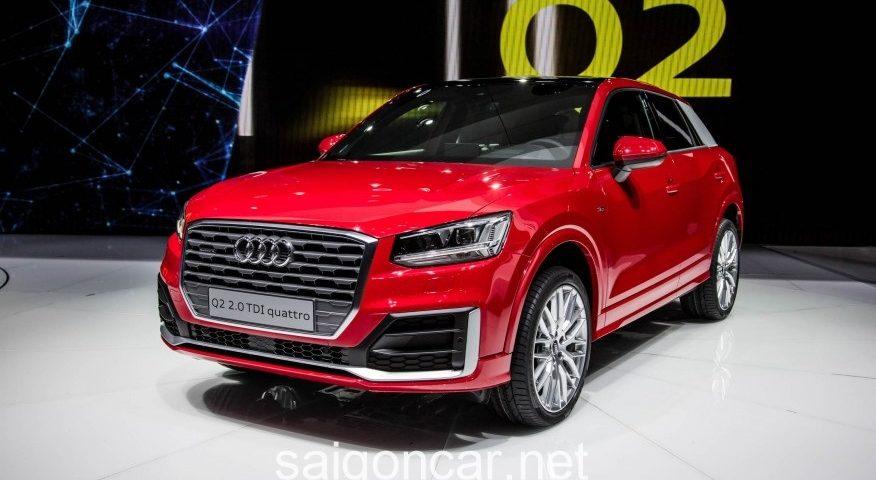 Audi Q2 Dau Xe