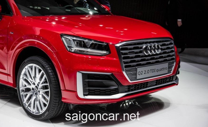 Audi Q2 Den Trai