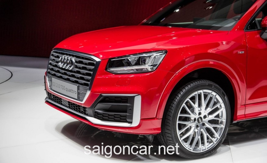 Audi Q2 Den Xe