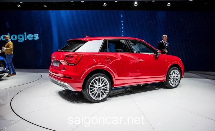 Audi Q2 Duoi Xe