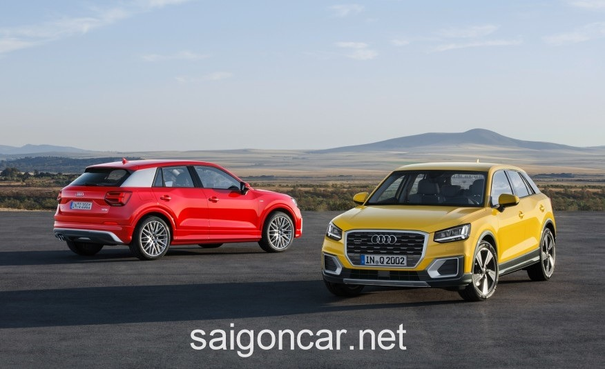 Audi Q2 Mau Vang vs Do