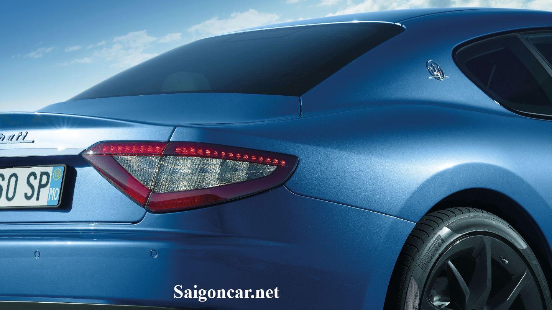 Maserati GranTurismo Đèn sau thiết kế tinh xảo và sắc nét