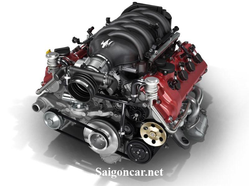 Maserati GranCabrio Động cơ V8 mạnh mẽ khỏe khoắn