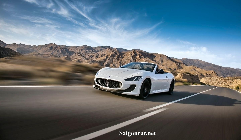 Maserati GranCabrio Thiết kế thể thao vận hành êm ái