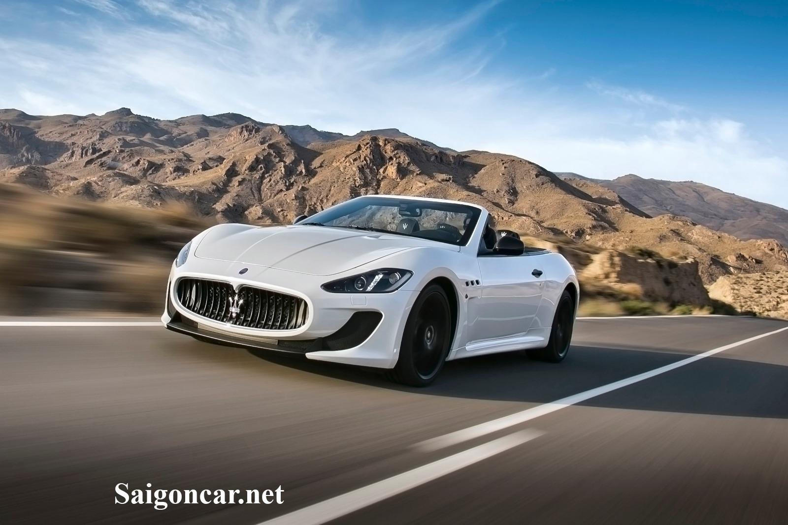 Maserati Grancabrio xe sang mang thương hiệu thụy điển