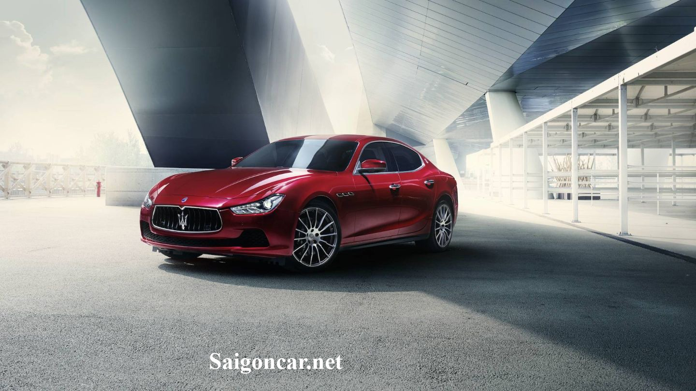 Xe Maserati Ghibli thuong hieu xe sang