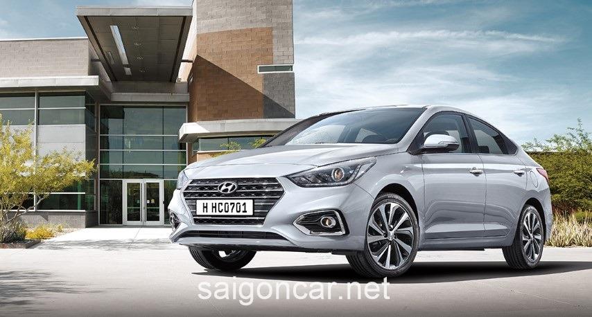 Hyundai Accent Mau Bac