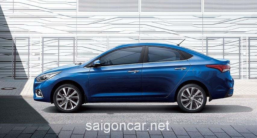 Hyundai Accent Mau Xanh
