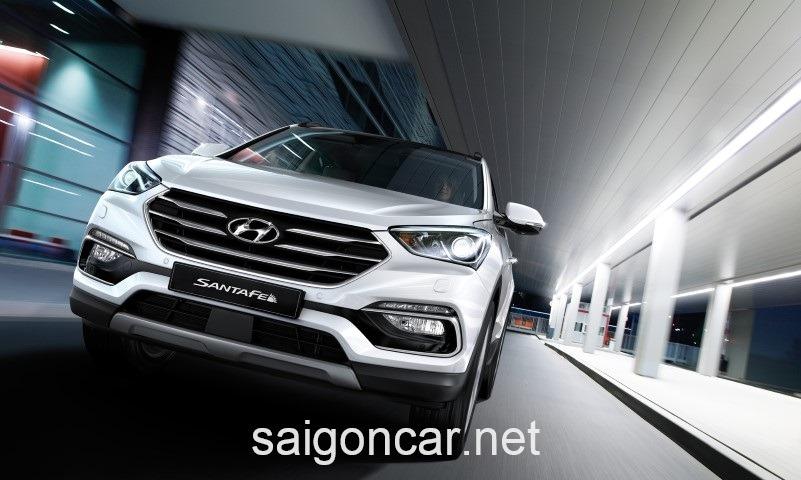 Hyundai Santafe Dau Xe
