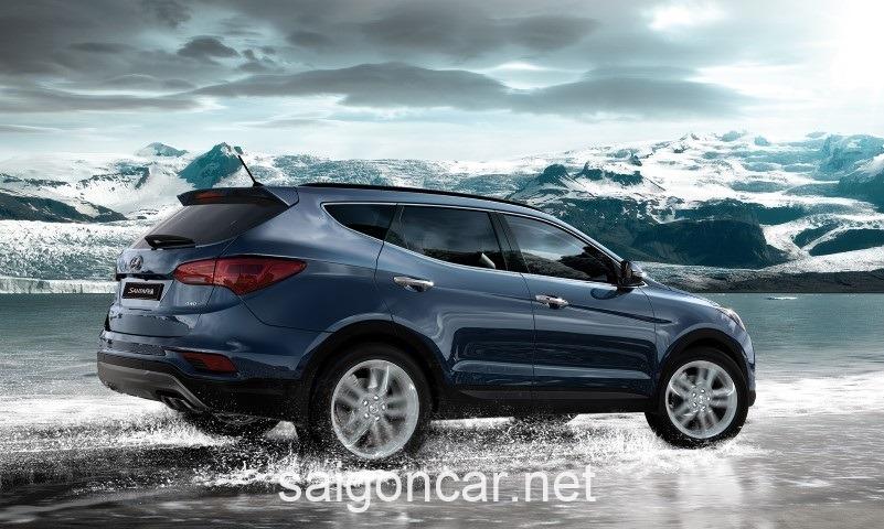 Hyundai Santafe Den Duoi