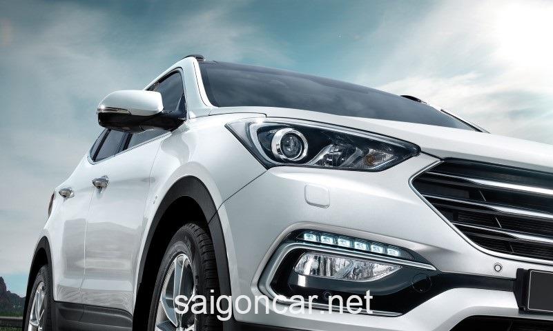 Hyundai Santafe Den Trang