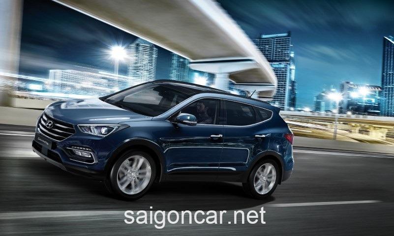 Hyundai Santafe Hong Trai