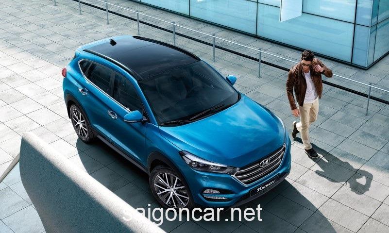 Hyundai Tucson Tong Quan Xanh