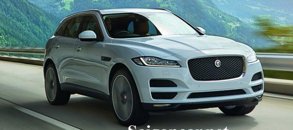 Jaguar F Pace dau xe