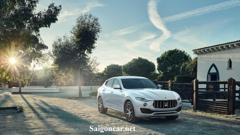 Maserati Levante cá tính và không kém phần lịch lãm