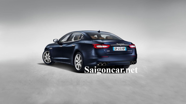 Maserati Quattroporte mạnh mẽ với từng đường nét