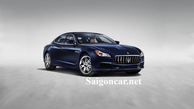 Maserati Quattroporte Chiếc xe gắn liền với thương hiệu xe sang cho quý tộc