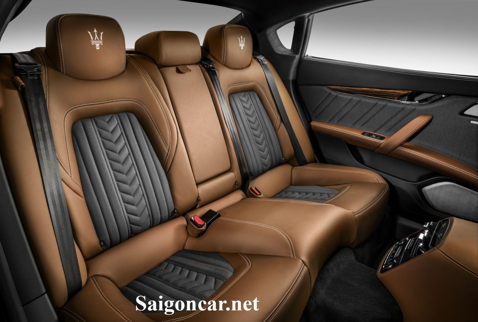 Maserati Quattroporte Nội thất sang trọng lịch lãm của thương hiệu xe sang đến từ Ý