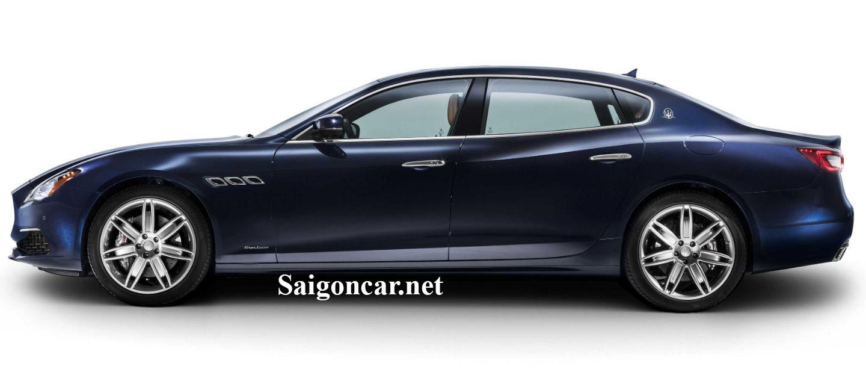 Maserati Quattroporte Thiết kế tổng thể mạnh mẽ tới từng đường nét
