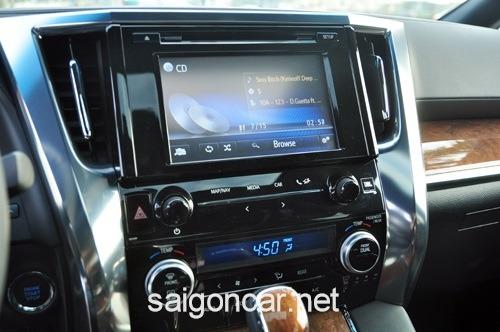 Toyota Alphard DVD
