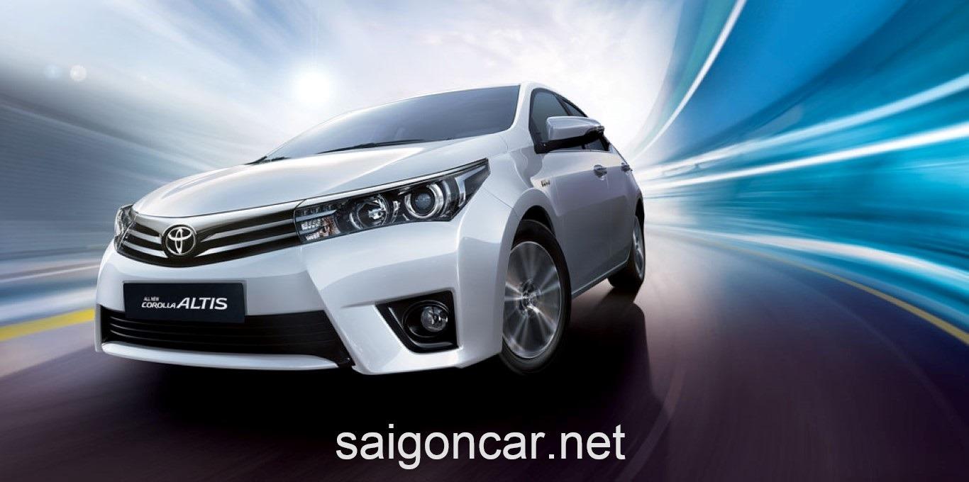 Toyota Altis Dau Xe