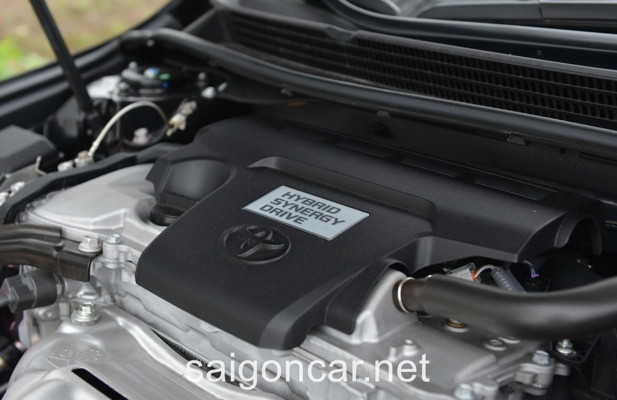 Toyota Avalon Dong Co Moi