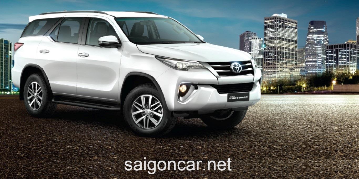 Toyota Fortuner Dau Xe