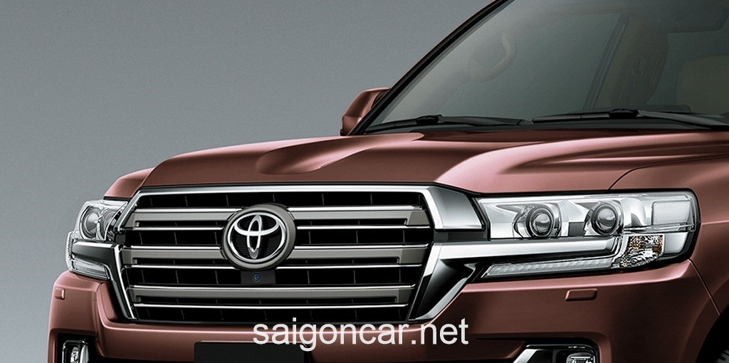 Toyota Land Cruiser Dau Xe