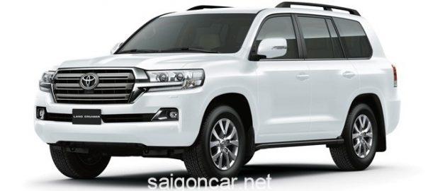 Giá xe Toyota Land Cruiser 2020 nhập khẩu ưu đãi khủng