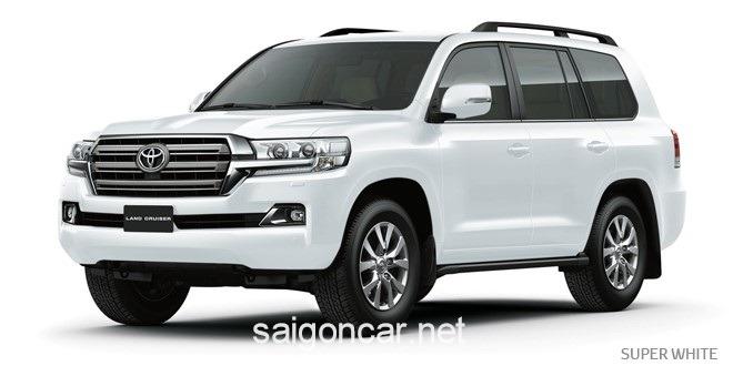 Toyota Land Cruiser Mau Trang
