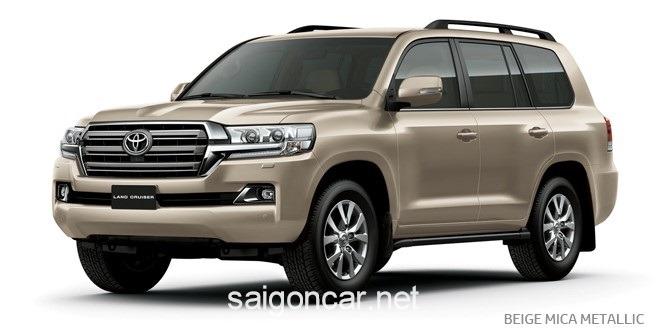 Toyota Land Cruiser Mau Vang