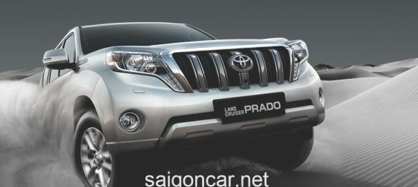 Giá xe Toyota Land Cruiser Prado 2020 nhập khẩu ưu đãi lớn
