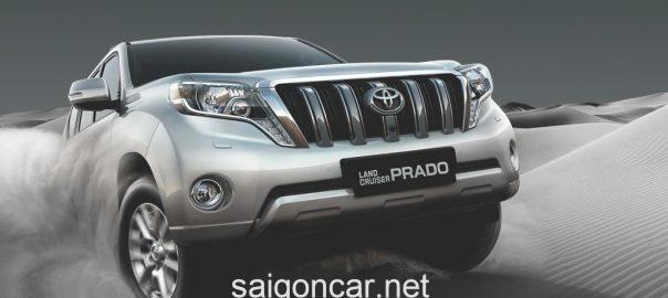 Toyota Land Cruiser Prado Dau Xe