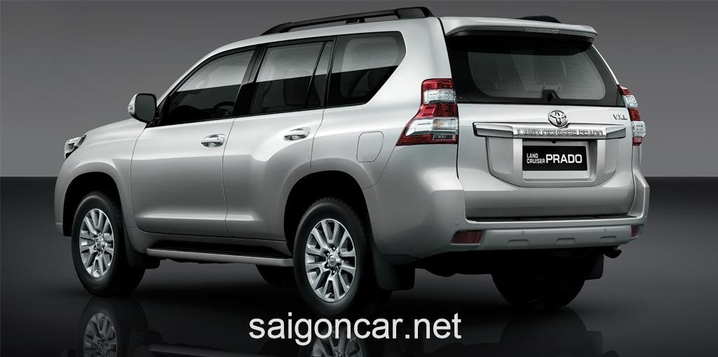 Toyota Land Cruiser Prado Duoi Xe