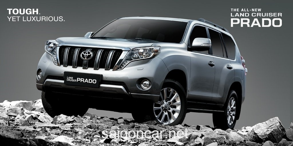 Toyota Land Cruiser Prado Tong Quan