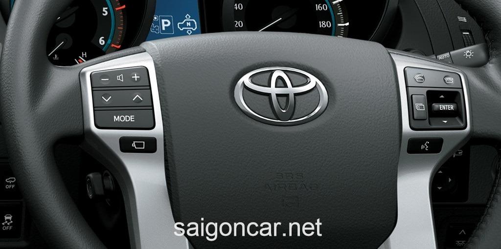 Toyota Land Cruiser Prado Vo Lang