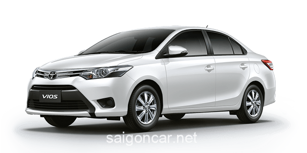 Toyota Vios Mau Trang