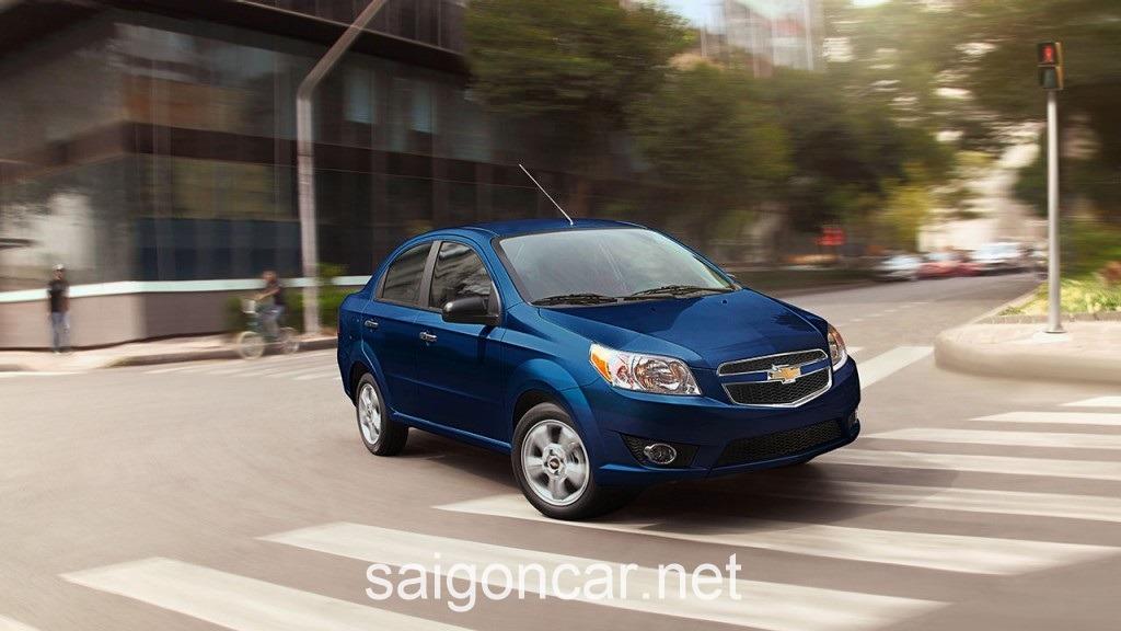 Chevrolet Aveo Tong Quan Xanh
