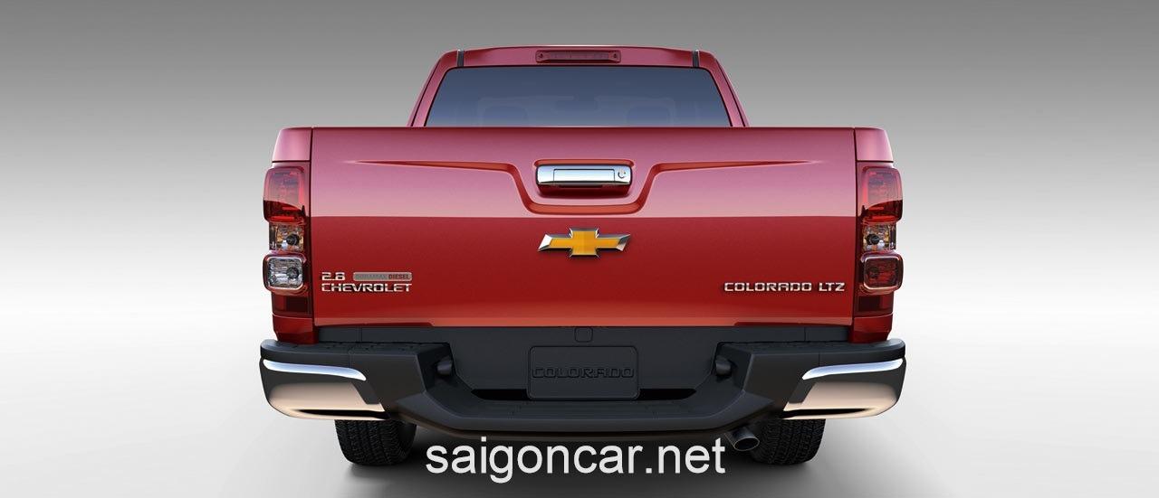 Chevrolet CoLorado Duoi Xe