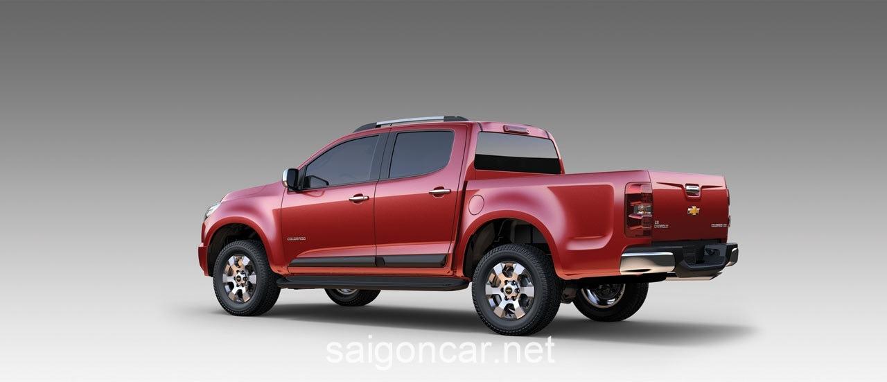 Chevrolet CoLorado Hong Xe