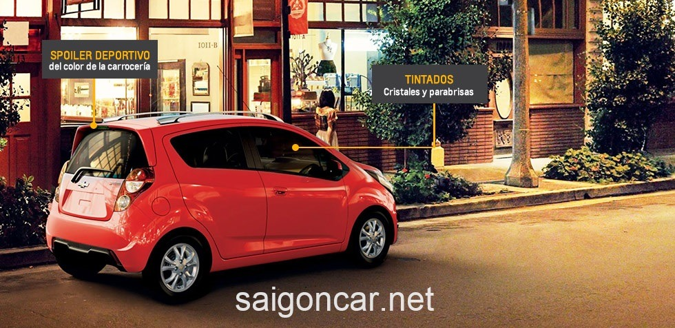 Chevrolet Spark Tong Quan Do