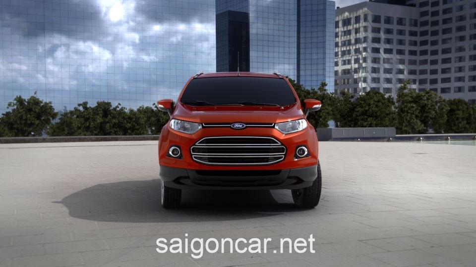 Ford Ecosport Dau Xe