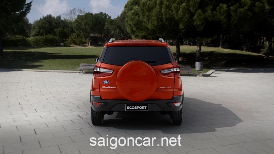 Ford Ecosport Duoi Xe