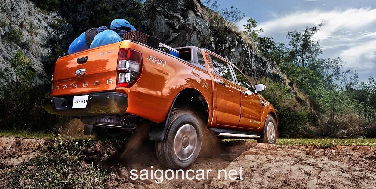 Ford Ranger Duoi Xe