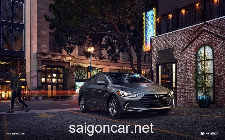Hyundai Elantra Dau Xam