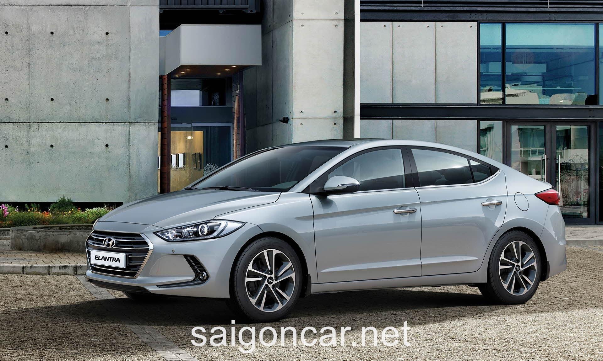 Hyundai Elantra Hong Xe